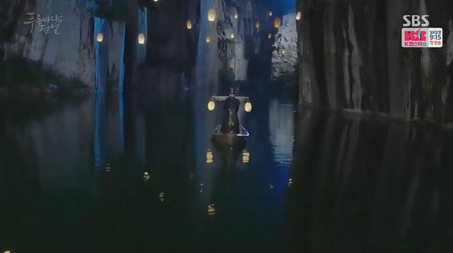《來自藍色大海的傳說》劇情畫面