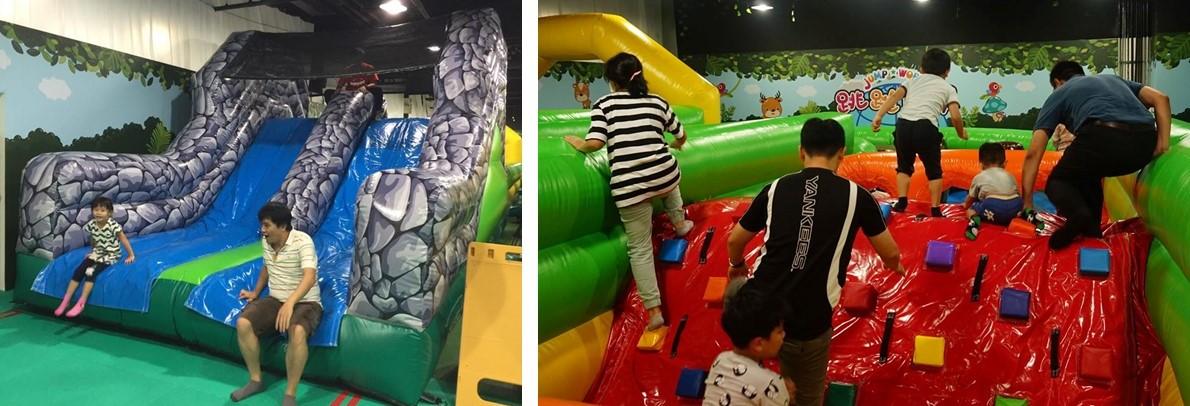 4.跳跳世界 兒童氣墊跑酷