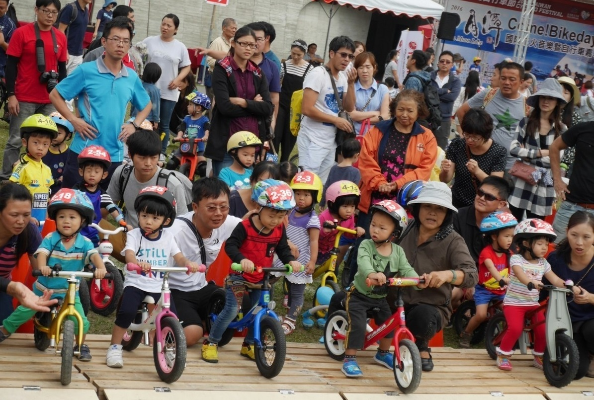 push bike is a popular outdoor exercise for young children
