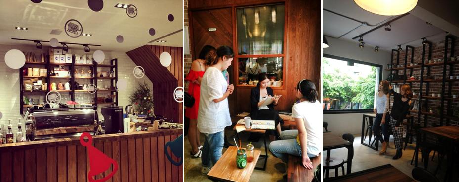 HAUSINC CAFE佈置