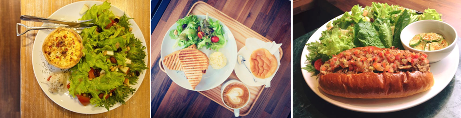 HAUSINC CAFE餐點