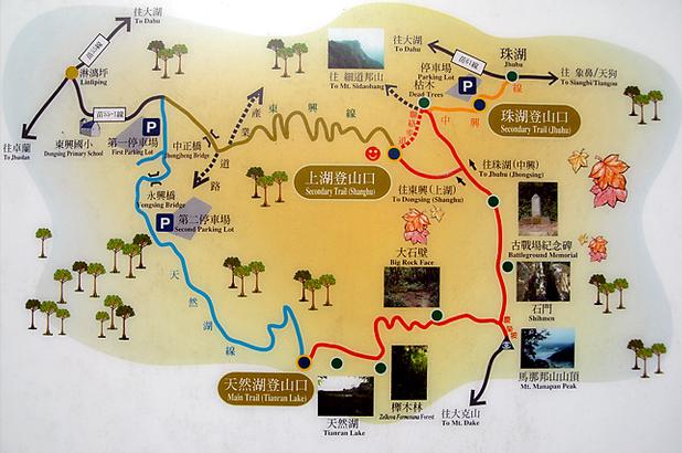 馬拉邦山登山步道導覽