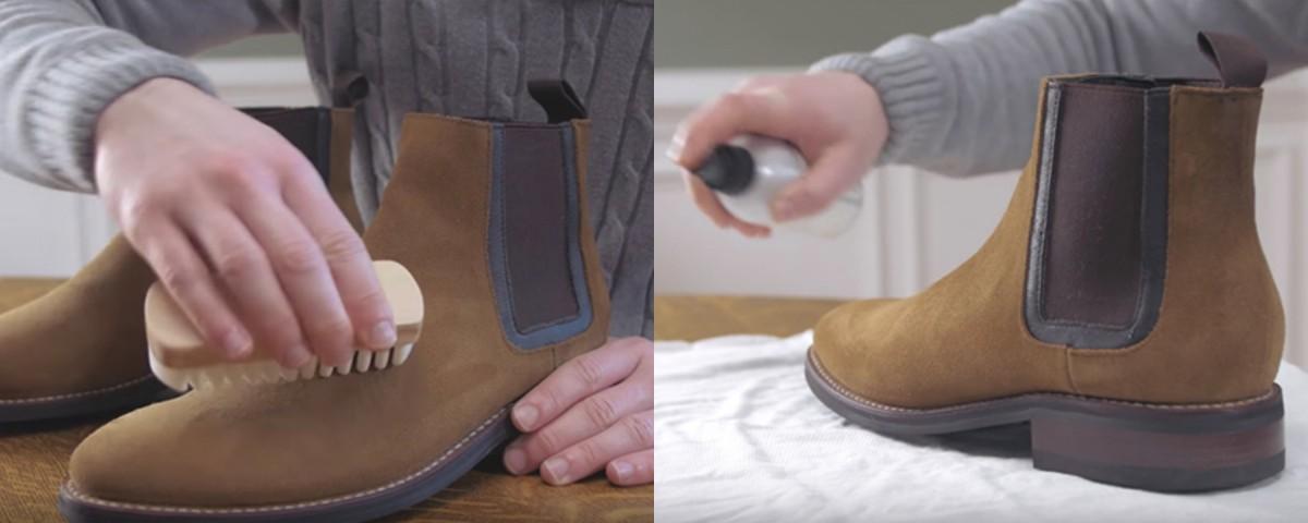 麂皮鞋的保養