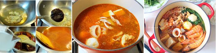 泡菜鍋湯底