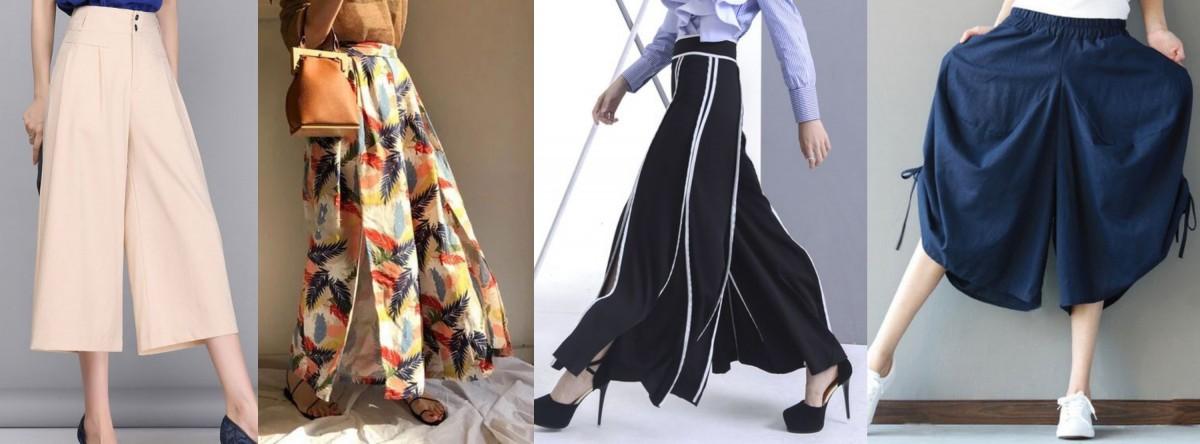 西洋梨身型的寬褲