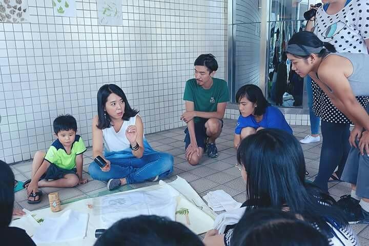林曉鳳擔任課程講師,讓更多人認識植物染藝術。