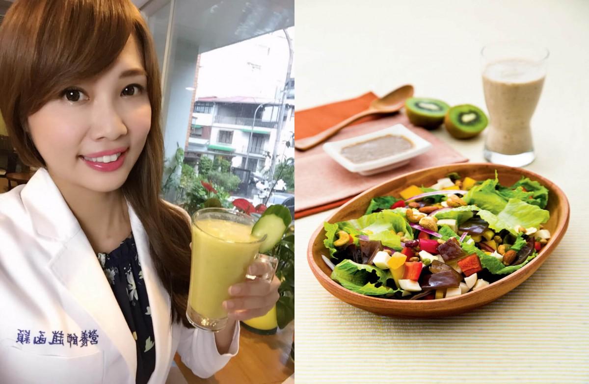 趙函穎常自製健康料理,享受美食也不怕胖
