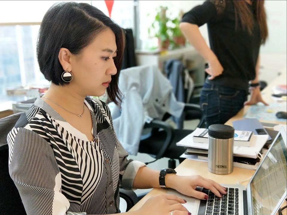 作者 Eva 為行銷總監,認為在面試過程中也能吸收到各行各業知識