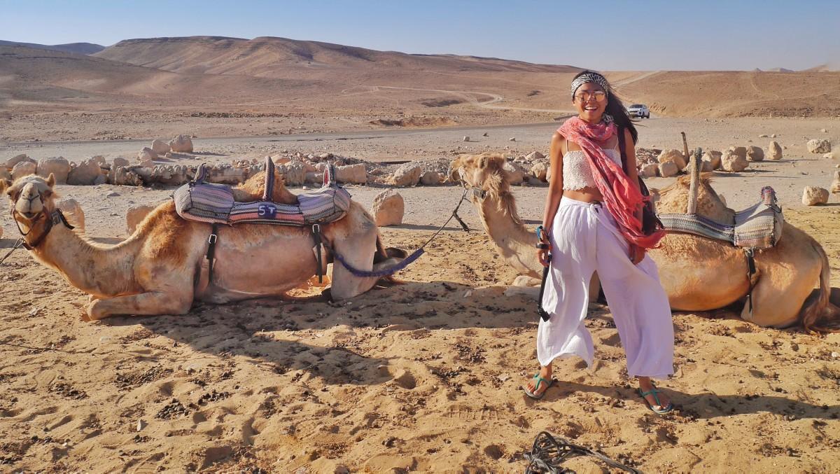 喜愛旅行的昕璇,對世界充滿熱情。