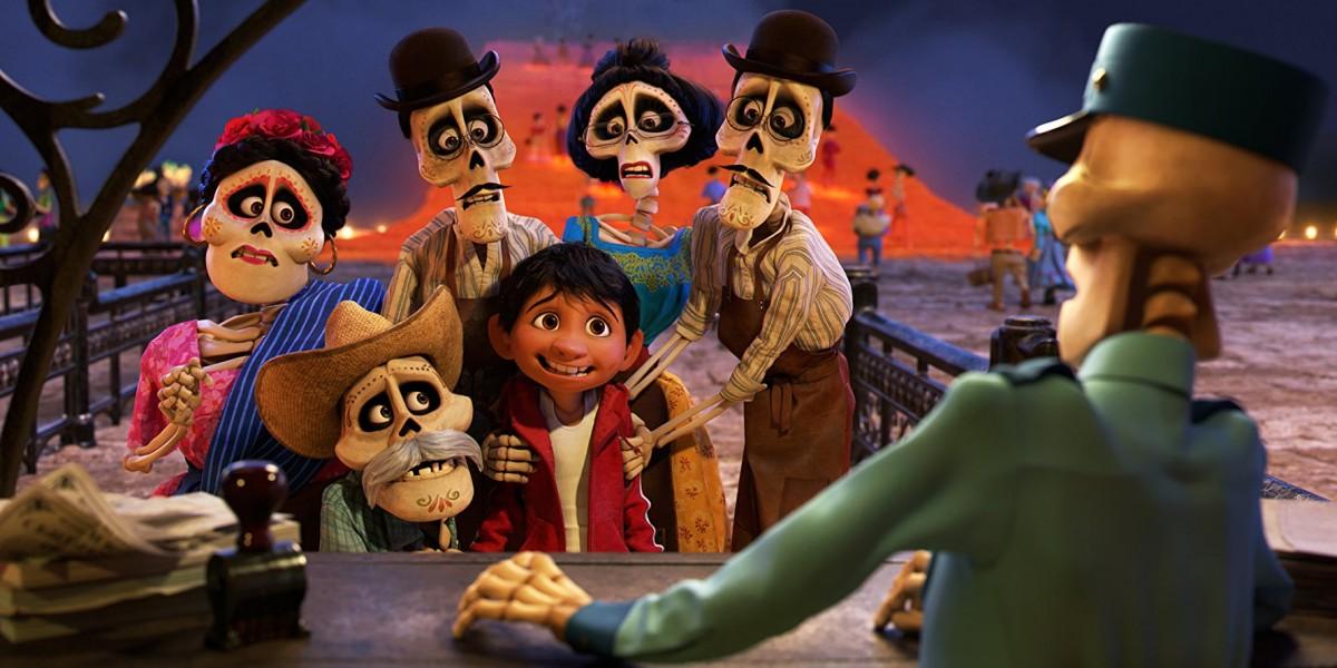 《可可夜總會》中也是以墨西哥亡靈節為故事藍本(圖片來源:IMDB)