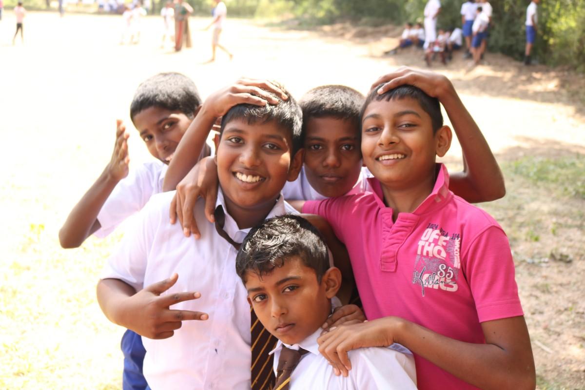 一張張真心的笑容是斯里蘭卡最難忘的美景。(圖片來源:編輯 攝)