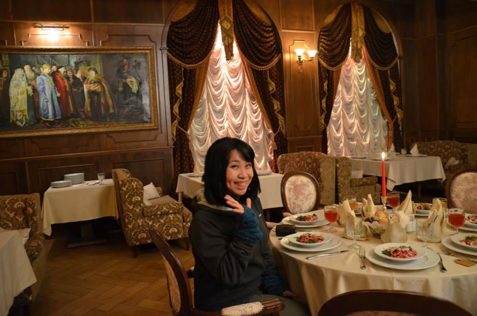 因為音樂表演,楊佳恬到過許多國家,也曾在零下50度的哈薩克演出(照片來源:楊佳恬)