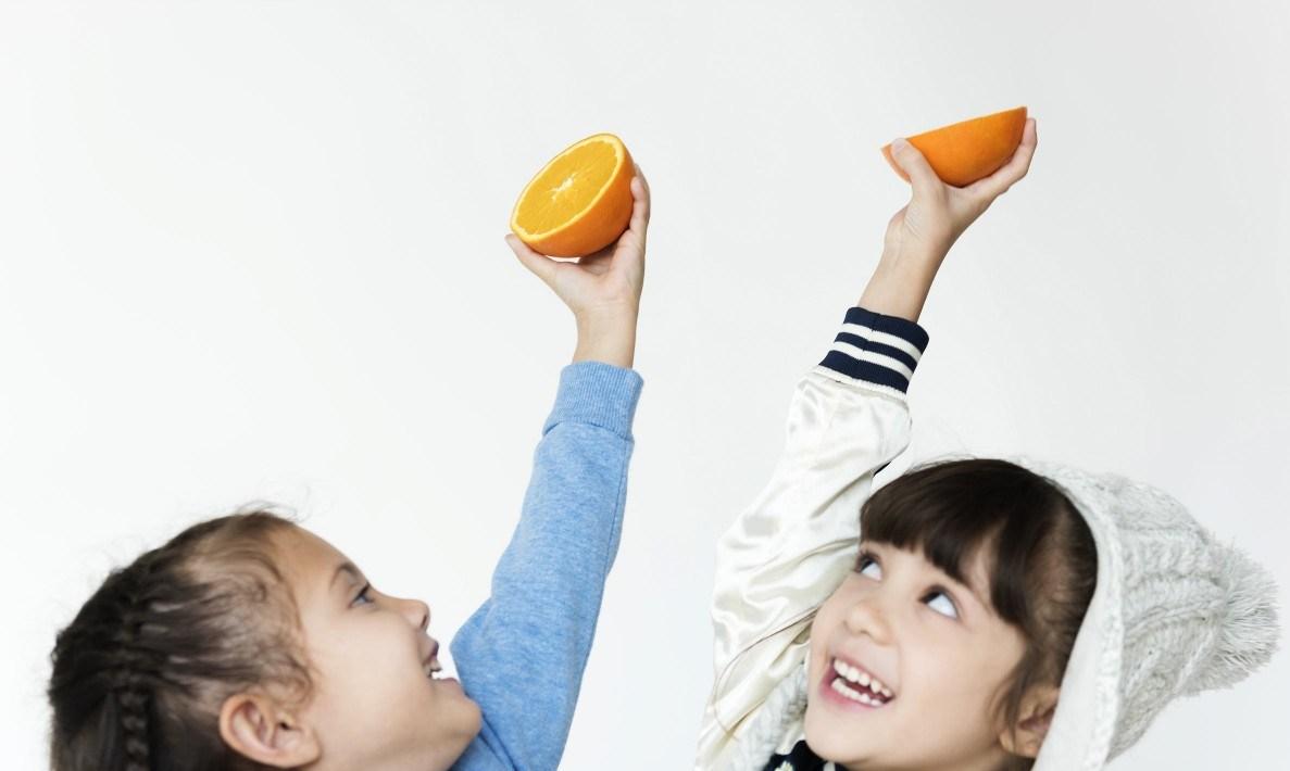children like fruit
