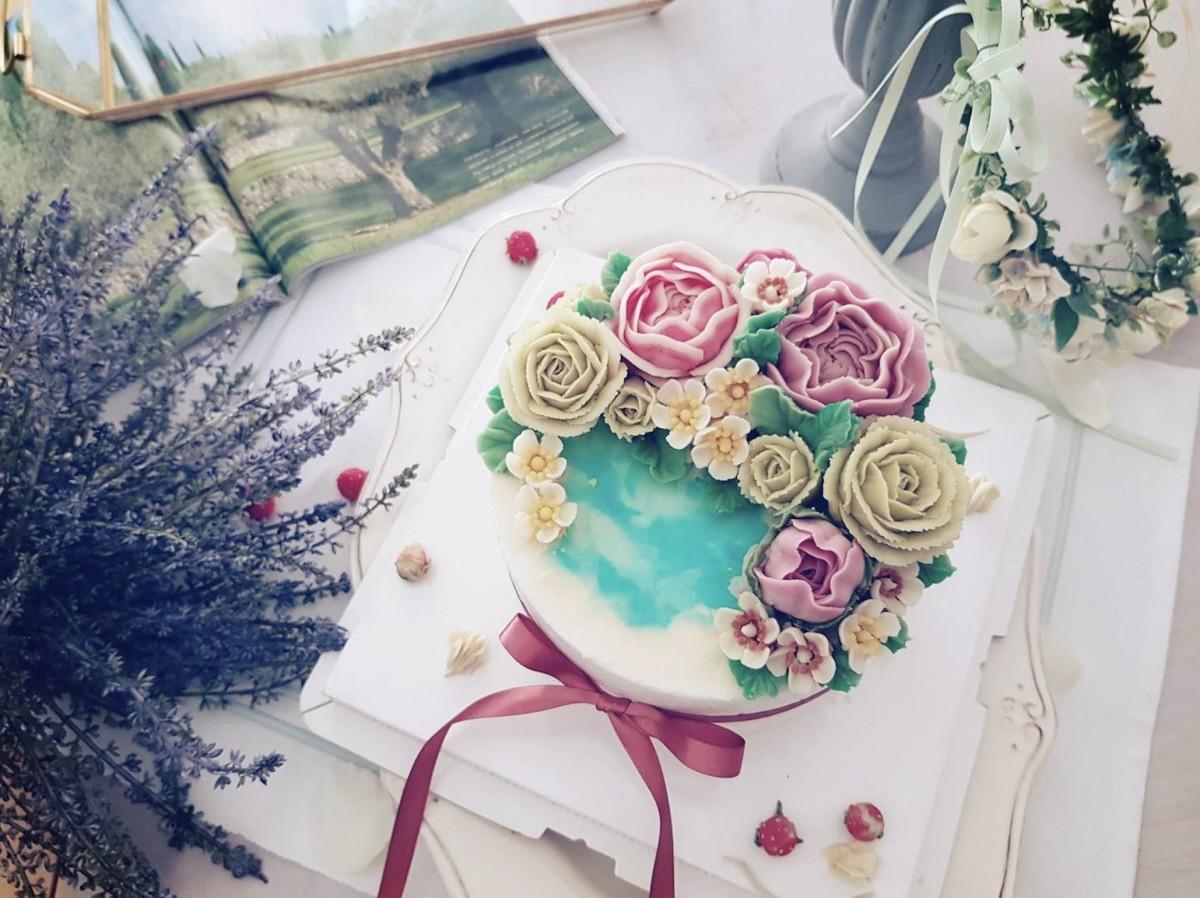 Jing cake