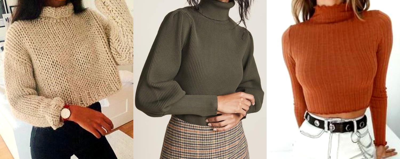 建議身材嬌小的女孩,不要穿長版的毛衣。