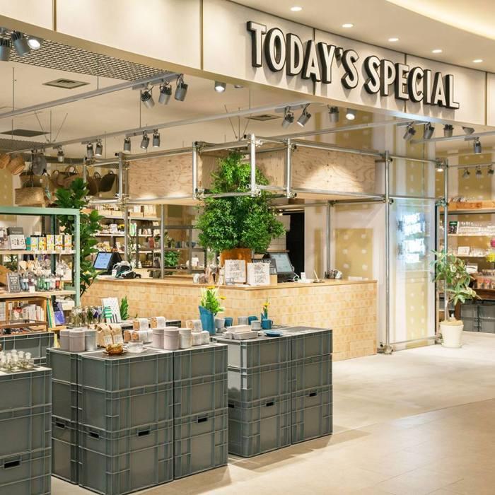 TODAY'S SPECIAL店內的每樣商品都是店家精挑細選的,商品皆附有設計感,種類從文具雜貨、書籍到生活用品、日系服飾通通有,相當多元