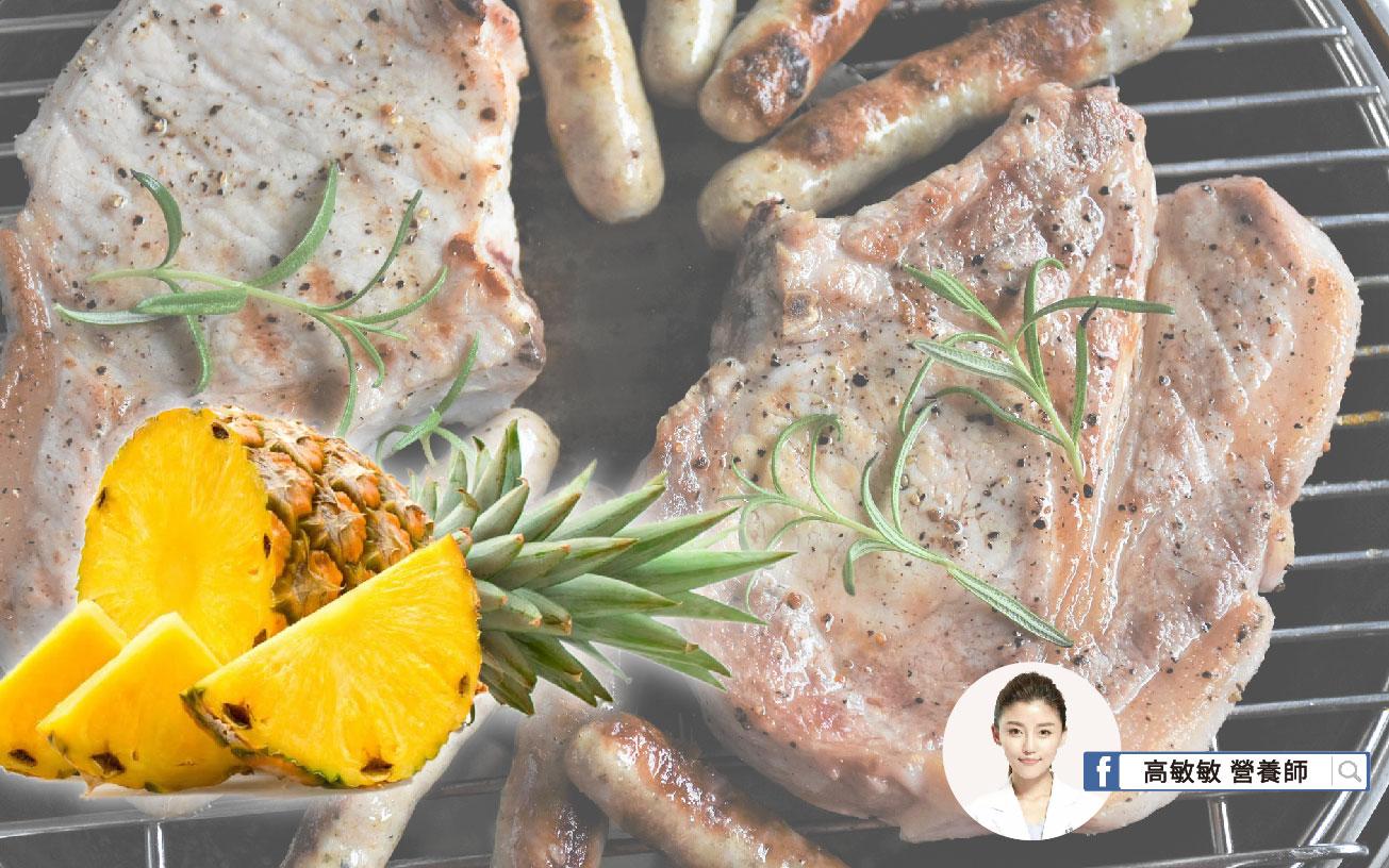 鳳梨烤肉醬─適合搭配肉品