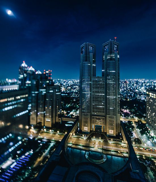 東京都廳展望室