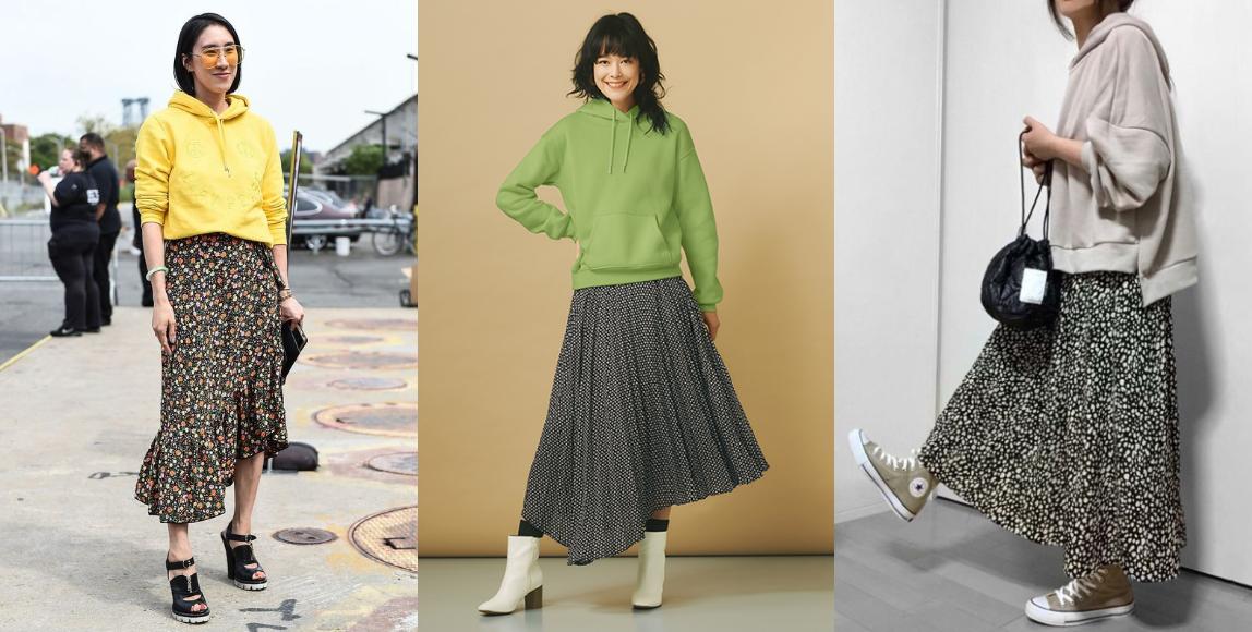 加強女人味提案:用長裙當個日系妞
