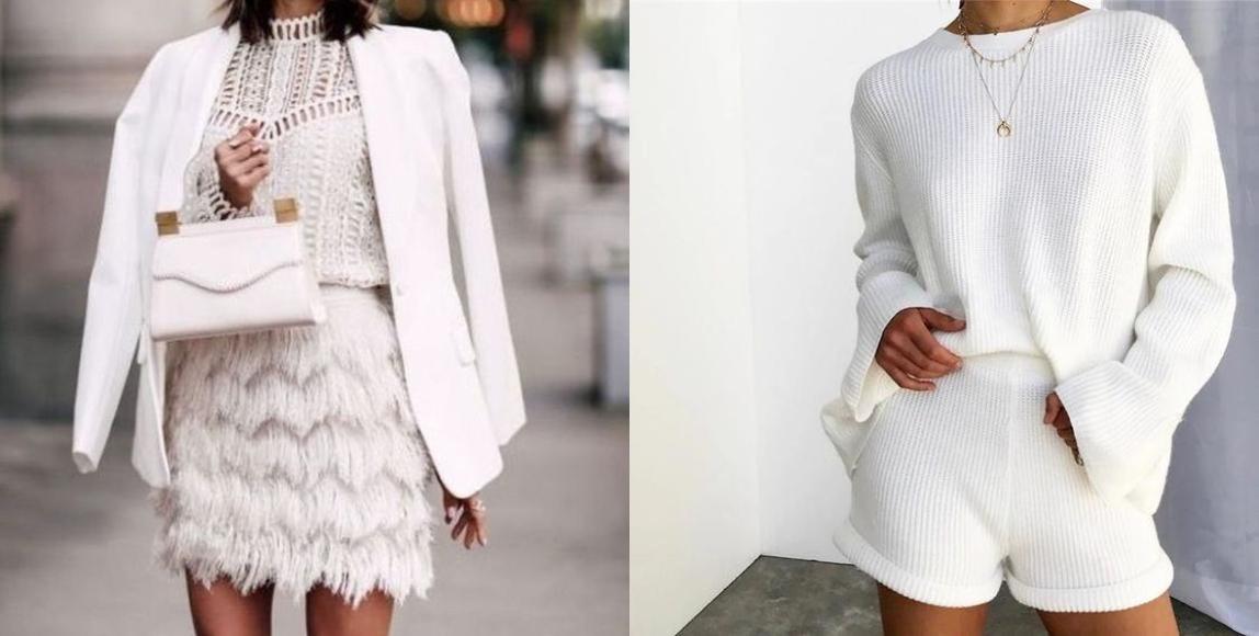 如同上圖的洋裝,即使是單純的白色,款式和材質的變化,穿在身上瞬間就像 MODEL 在走伸展台一樣。