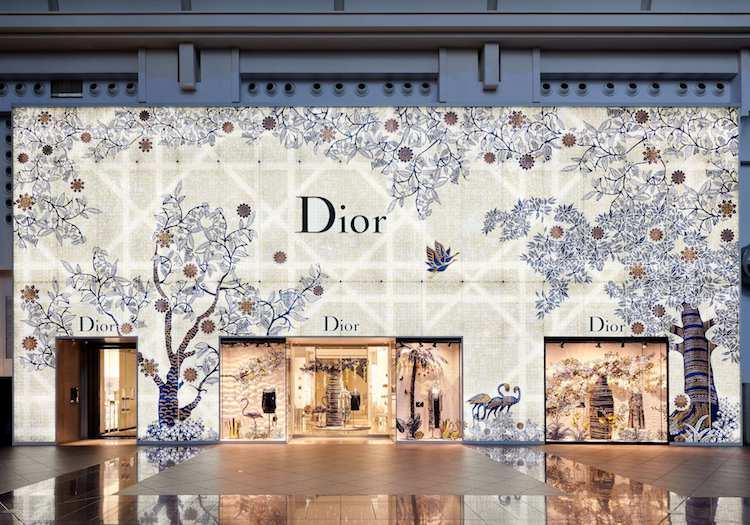 Dior 台北 101 精品店外觀(圖片來源請打上 Studio Millspace)