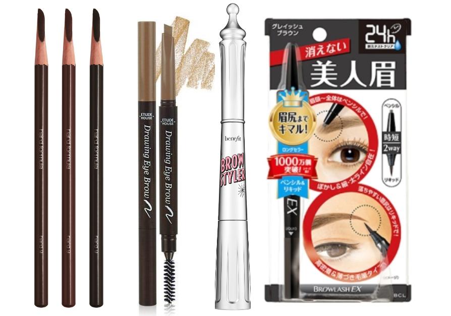 斜角的筆頭不僅能精準描繪眉型,還能緊密跟著毛流讓眉彩不輕易掉色。