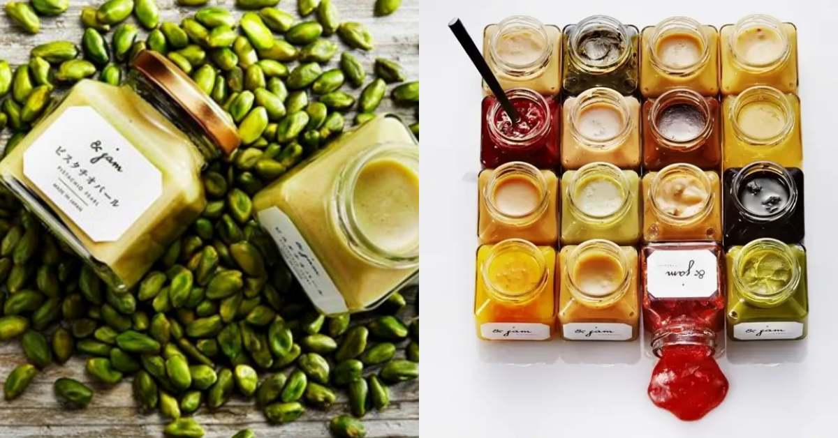 另一款必買招牌就是獨門的16款抹醬,黑糖、極葡萄將為期間限定口味,常態必買則有牛奶奶油、草莓、蘭姆葡萄等