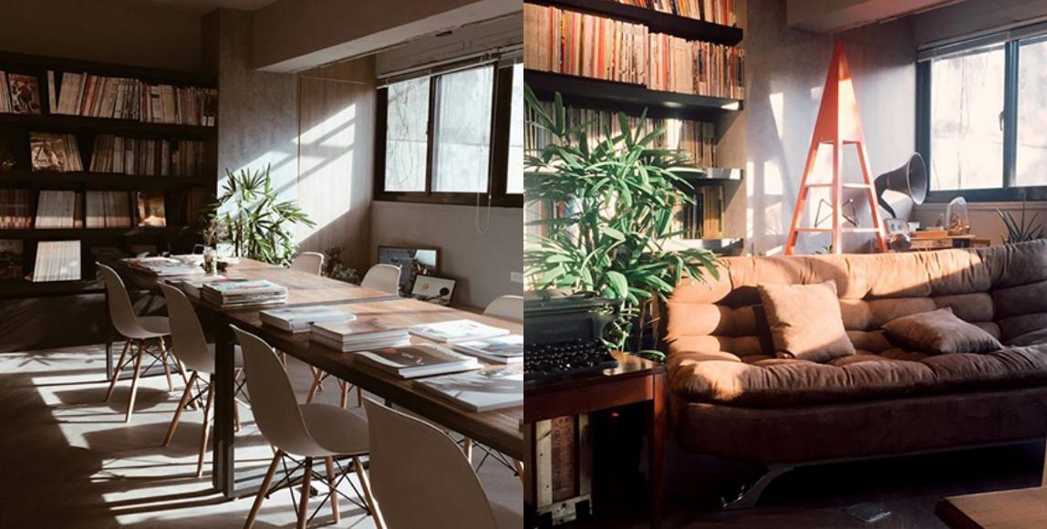 薄霧二字是博物的諧音,意即書的博物館,選書方向為設計與生活風格,也有許多絕版雜誌。