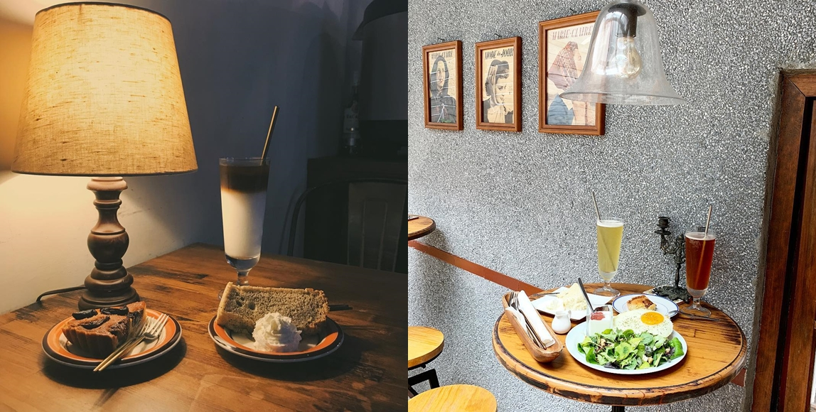Modern Mode 是一家複合式的咖啡店,復古設計的飾品陳列在室內用餐區像是置身在歐洲黃金年代,怎麼拍都自帶復古濾鏡!