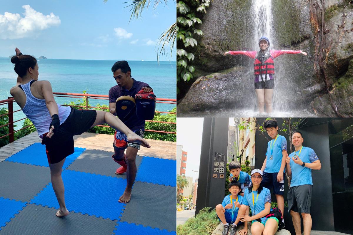 Liz 喜歡在閒暇時從事各種豐富的運動,帶著家人一起出遊,共創歡樂的家庭時光。