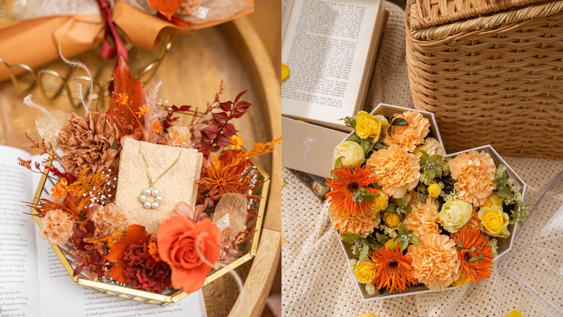 生活/將不敢說的愛都寄寓在花裡:母親節將至 為最愛的媽媽精選 5 間限定花禮!