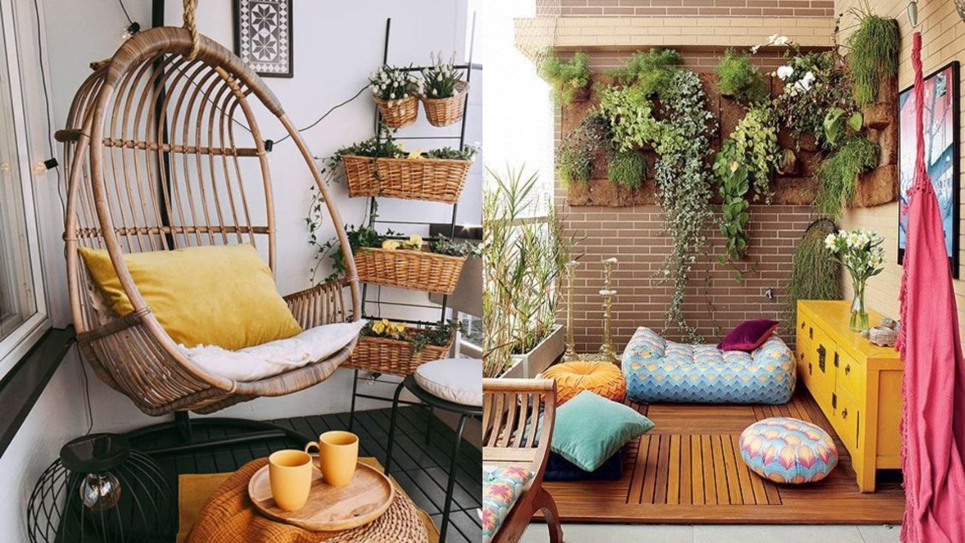 打造夢幻陽台:提前掌握 4 個佈置訣竅,你也能擁有放鬆小憩的陽台角落